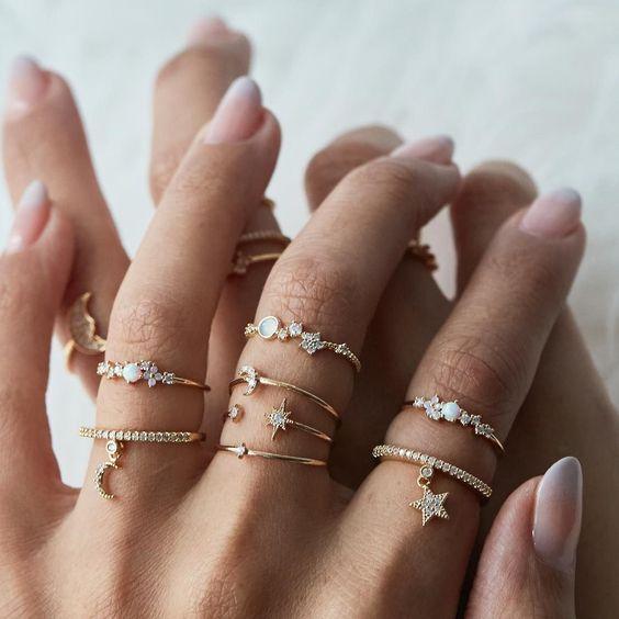 Lots of little rings: