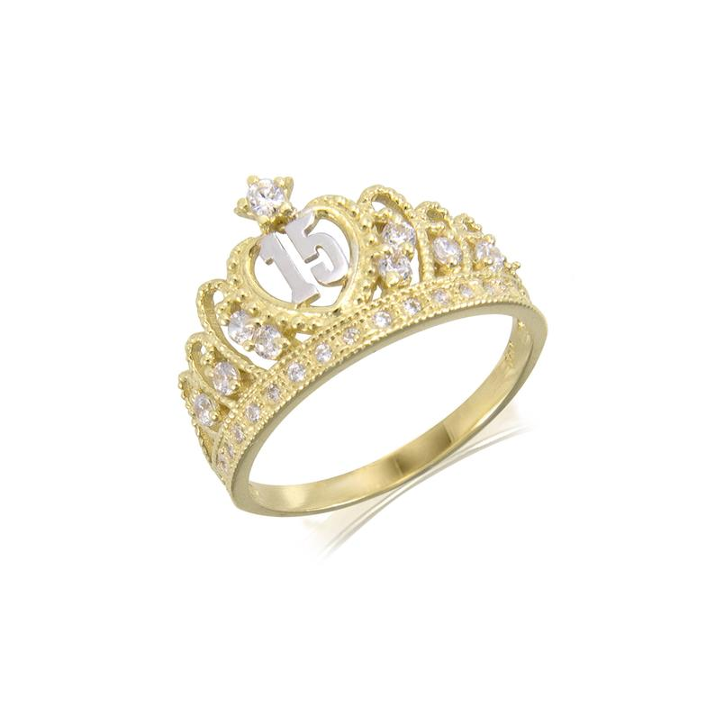 Luxurious rings to remember your quinceañera